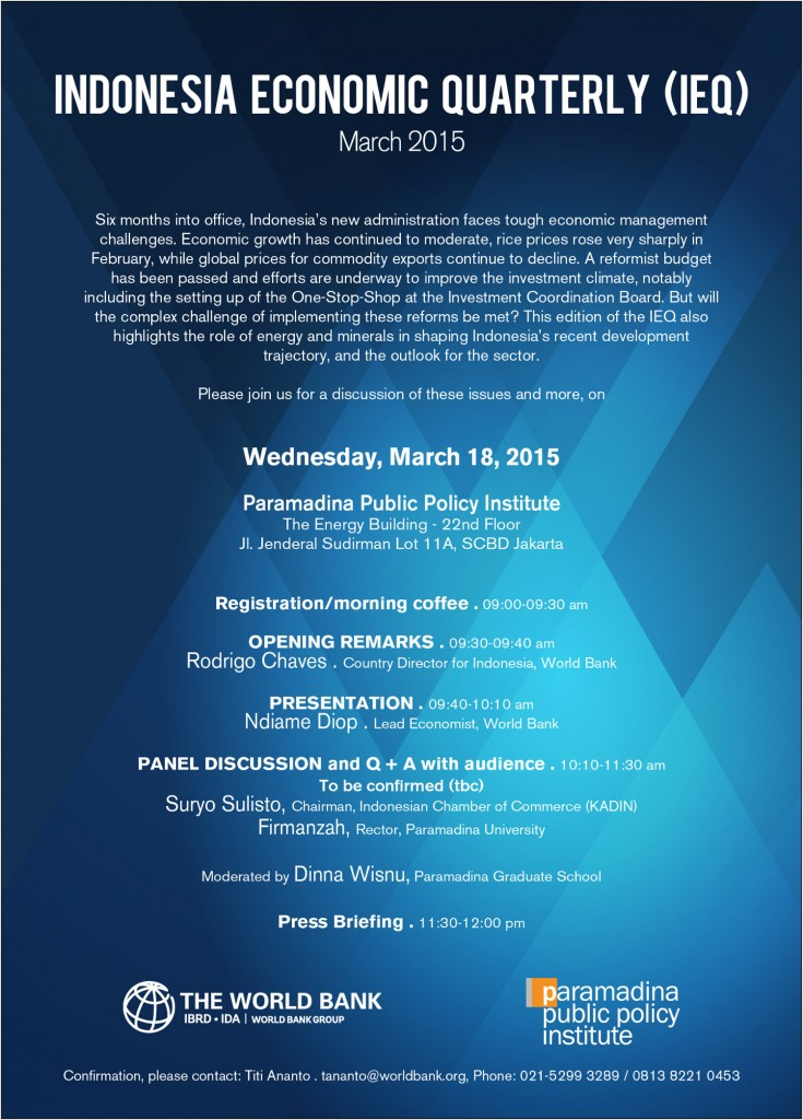 Flyer IEQ_March 2015